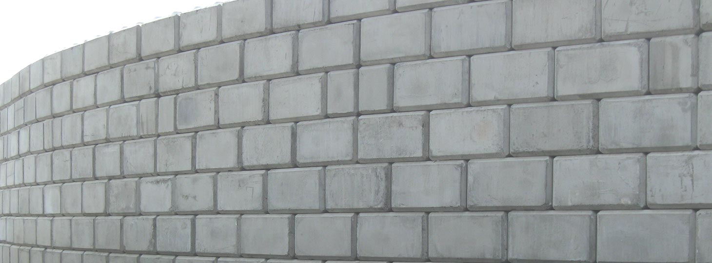 image of precast concrete block